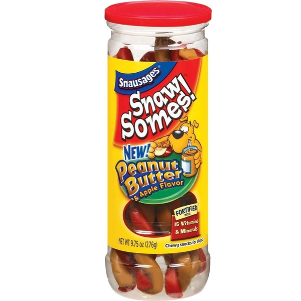 Snausages Snaw Somes! Peanut Butter & Apple 276g (9.75-oz)