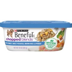 Purina Beneful Chopped Blends With Turkey 283g