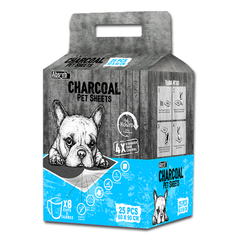 Absorb Charcoal Pet Sheet 60x90cm 25 miếng