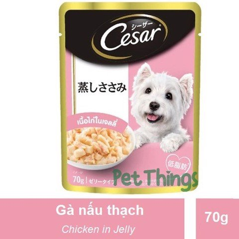 Cesar Japan Chicken in Jelly 70g