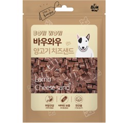 Bow Wow Lamb chesse sand 100g