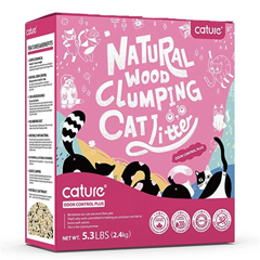 Cature Odor Control Plus Natural Wood Clumping