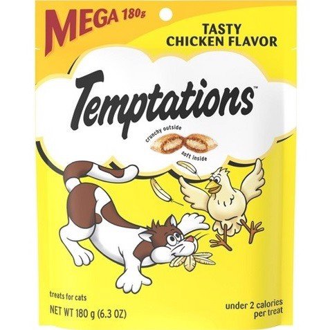 Temptations USA Tasty Chicken 180g (6.3oz)