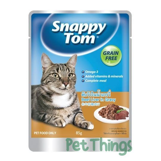 Snappy Tom Beef Liver in Gravy 85g