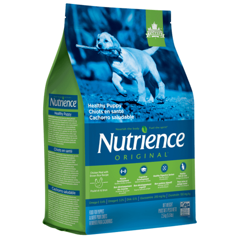Nutrience Original Healthy Puppy, Chicken Meal with Brown Rice