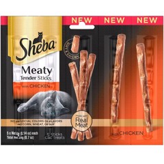 Sheba Meaty Tender Sticks Chicken, 5 count