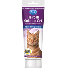 PetAg Hairball Solution Chicken Flavored Gel 100g