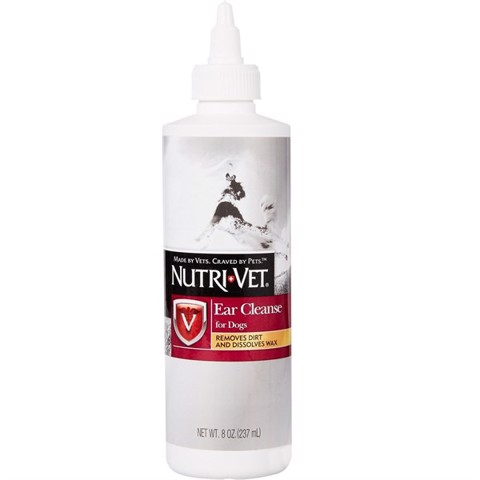 Nutri-Vet Ear Cleanse for Dogs 237ml (8oz)