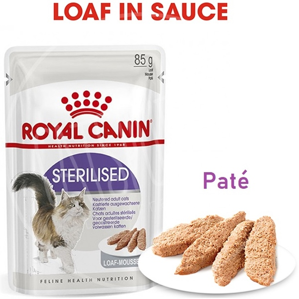 Royal Canin Paté/Loaf Cat Sterilised