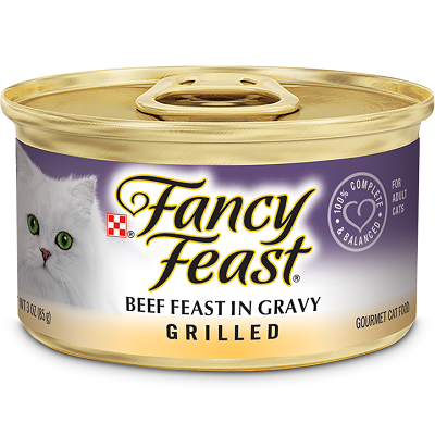 Fancy Feast Grilled Beef in Gravy 85g