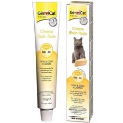 GimCat Gel Cheese Biotin Paste Skin & Coat Complex 50g