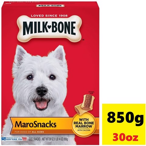 Milk-Bone Maro Snacks Dogs of All Sizes 850g (30oz)
