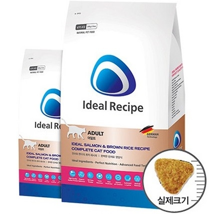 Ideal Recipe Cat Adult Salmon & Brown Rice
