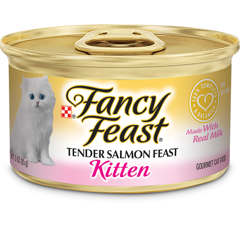 Fancy Feast Grain Free Pate Kitten Salmon 85g