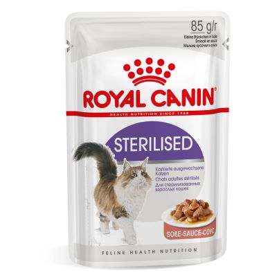 Royal Canin Sterilised in gravy