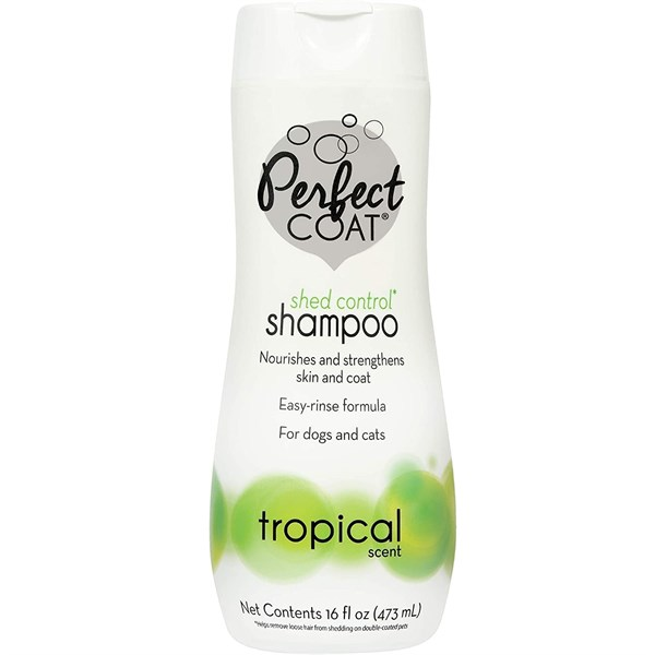 Perfect Coat Shed Control Shampoo Tropical Scent 473ml