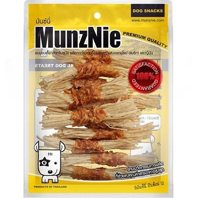 Munznie Chicken fillet jerky wrap fish
