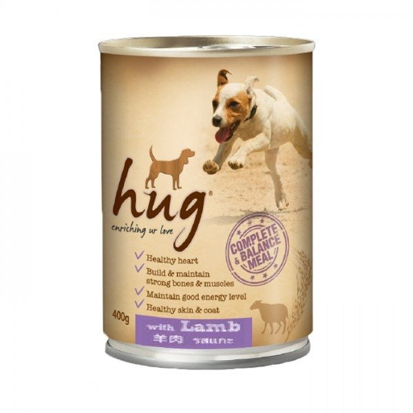 Hug dog food 400g