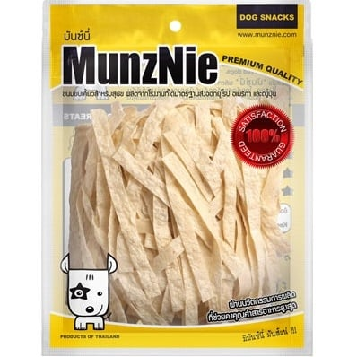 Munznie Snack Cá Fish Big Strip 80g