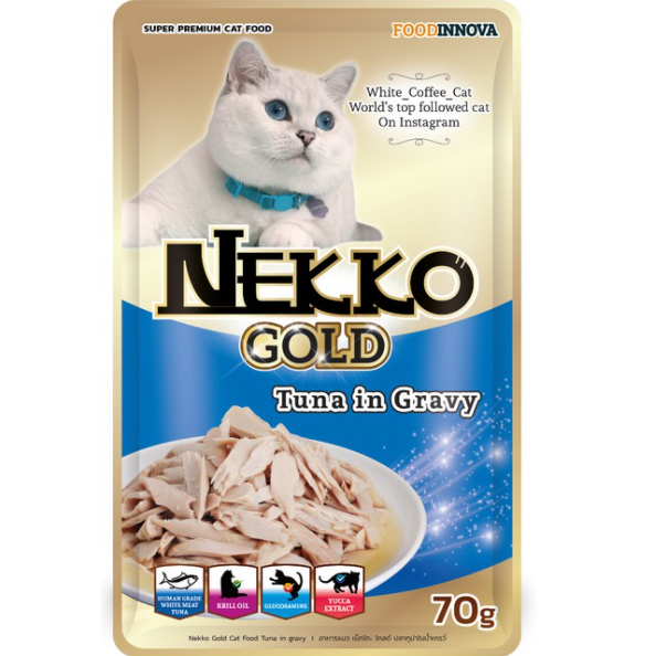 Nekko Gold Tuna in Gravy 70g