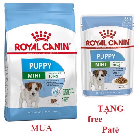 Combo Royal Canin Mini Puppy 800g + Mini Puppy 85g