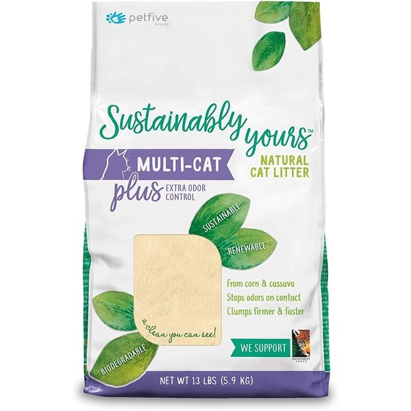 Petfive Sustainably Yours Multi-Cat Plus