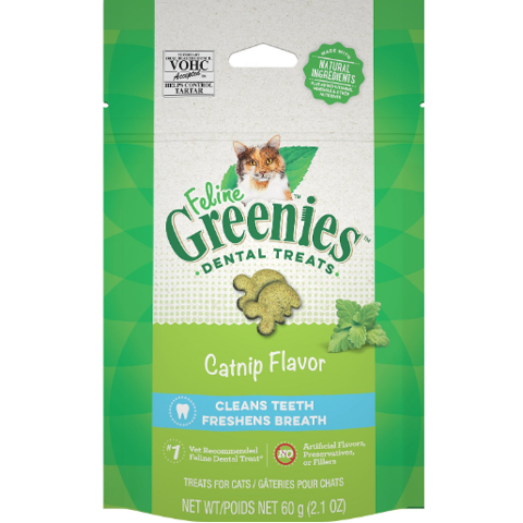 Feline Greenies Dental Catnip