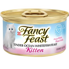Fancy Feast Grain Free Pate Kitten Ocean Whitefish 85g