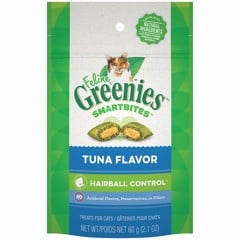 Feline Greenies SmartBites Hairball Control Tuna