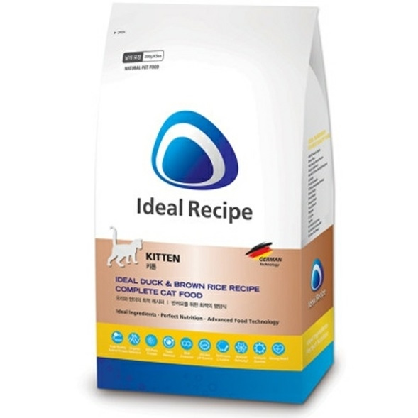 Ideal Recipe Kitten Duck & Brown Rice