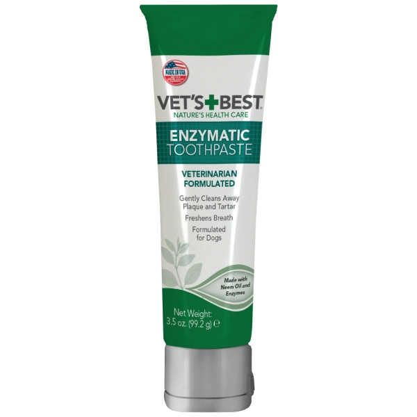 Vet's Best Enzymatic Dog Toothpaste 99.2g (3.5-oz)
