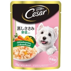 Cesar Japan Chicken Carrot & Pumkin 70g