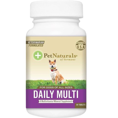 Pet Naturals Dog Daily Multivitamin, 60 viên