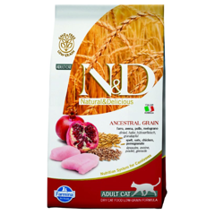 Farmina N&D Low Ancestral Grain Adult Cat, Chicken & Pomegranate