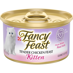Fancy Feast Grain Free Pate Kitten Chicken 85g