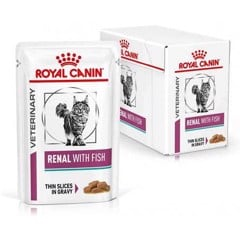 Royal canin Cat Renal with Fish