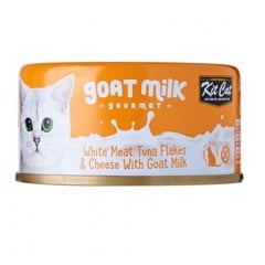 Kit Cat White Meat Tuna Flakes & Chesse with Goat Milk 70g