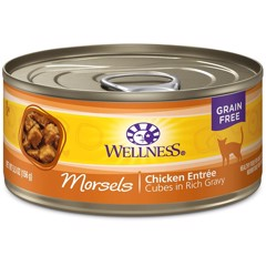 Wellness Natural Grain Free Morsels Chicken 156g