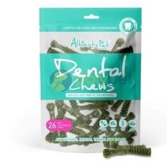Altimate Pet Dental Chews 26 Mini Toothbrush 150g