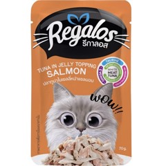 Regalos Tuna in Jelly Topping Salmon 70g