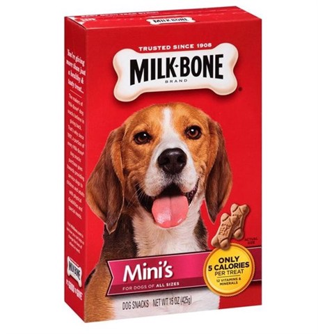 Milk-Bone Mini's Original Dog Biscuits, 15 oz (425g)