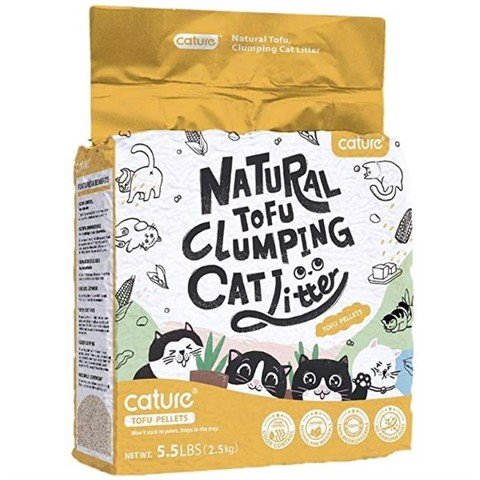 Cature Tofu Milk Tea Clumping Cat Litter 2.5kg