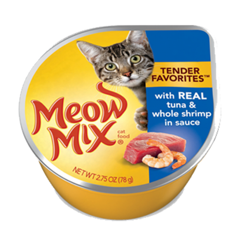 Meow Mix Tuna & Whole Shrimp in Sauce 78g