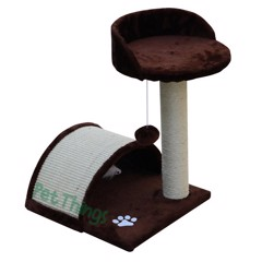 Cat tree M06B vòm 2 tầng 38*36*50 cm