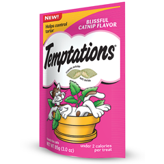 Temptations Blissful Catnip Flavor