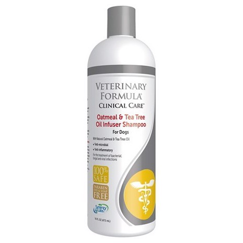 Veterinary Formular Oatmeal & Tea trea Oil Infuser Shampoo 473ml