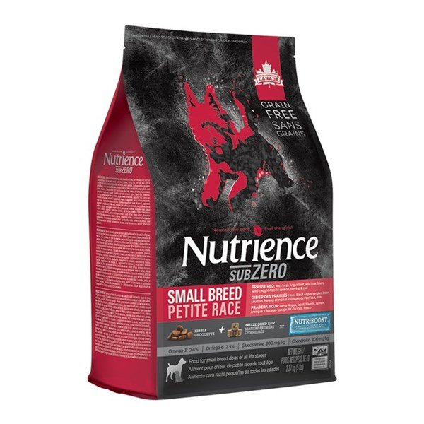 Nutrience Grain Free Subzero Dog Small Breed Prairie Red