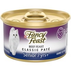 Fancy Feast Senior 7+ Classic Pate Beef 85g