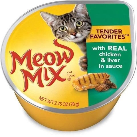 Meow Mix Tender Chicken & Liver in Sauce 78g