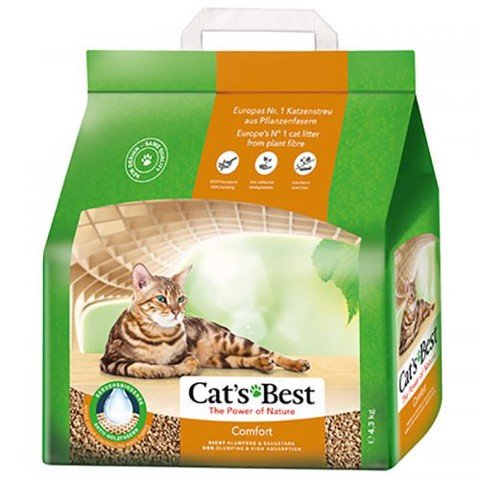 Cat's Best Comfort 4.3kg (non-clumping)